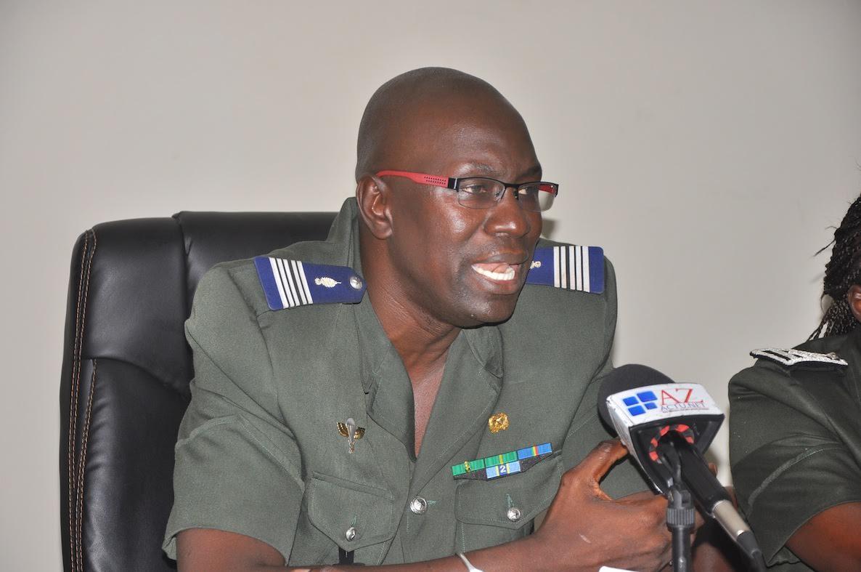 Voici le nouveau Gouverneur du Palais , le Colonel Daouda Diop!
