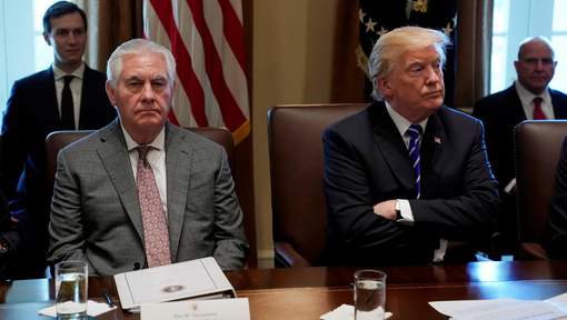 Trump envisage de remplacer son chef de la diplomatie