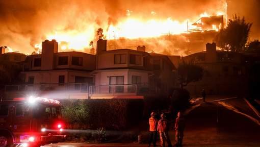 La Californie ravagée par un immense incendie