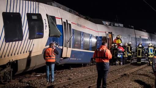 Plusieurs blessés dans une collision entre deux trains en Allemagne