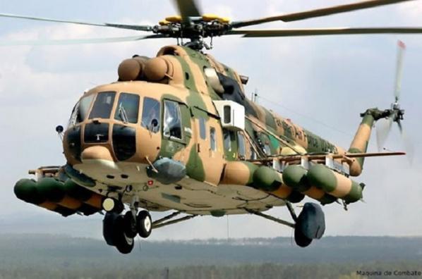Sénégal: l'Armée nationale a reçu discrètement deux hélicoptères de combat