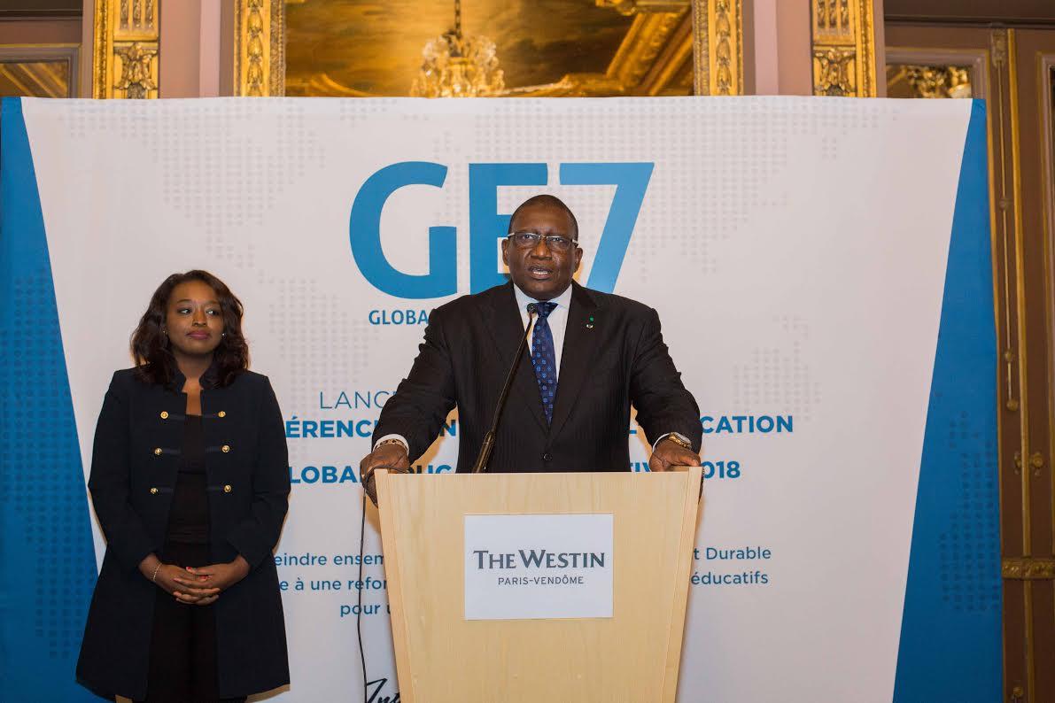 La Conférence mondiale pour l'Éducation (GE7) a été lancée à Paris