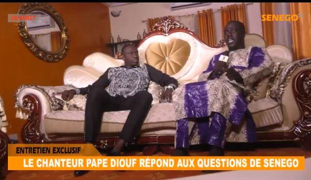 Revivez l'interview de Pape Diouf, leader de la Génération consciente