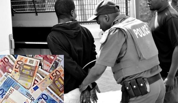 Trois individus interpellés avec de grosses sommes en dollars et euros