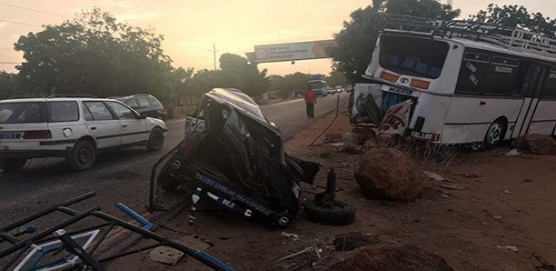 Accident spectaculaire : 5 morts à Diass