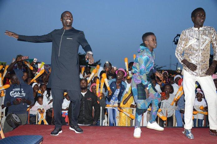 La prestation d'Akon lors de la finale de Sen P'tit Gallé