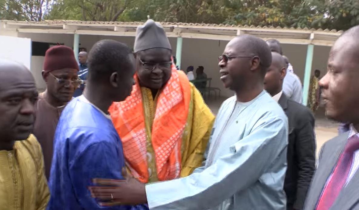 Arrêt sur image: Le Pm Boune Abdallah Dionne à la levée du corps du père de Pape Diouf