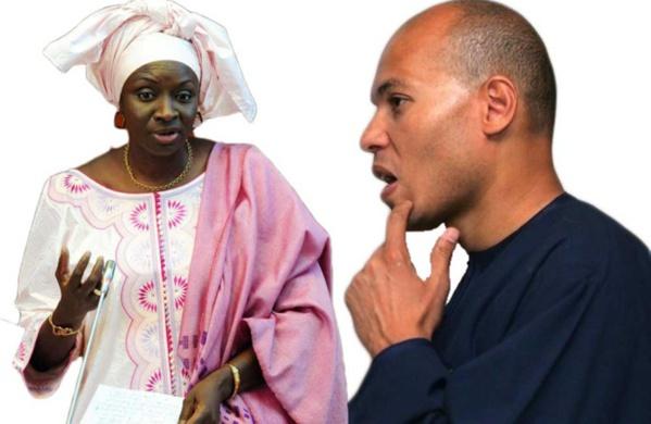 Mimi Touré révèle encore: « une procédure est en cours pour récupérer des appartements de Karim»
