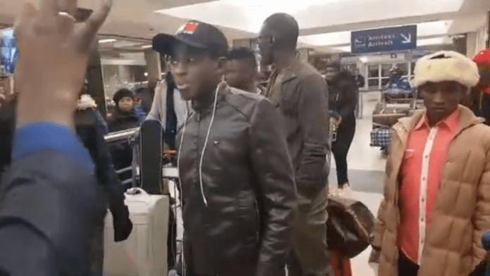 Vidéo : l'arrivée de Sidy Diop et Ouzin Keita à Paris