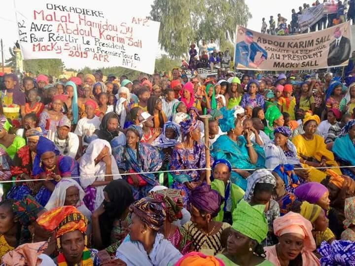 Abdou Karim Sall démontre sa représentativité dans son village natal d'Orkadiere (Images )