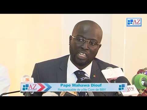 Macky récompense le responsable de la communication de Benno- Mahawa Diouf devient le...2ème patron de l'AIBD