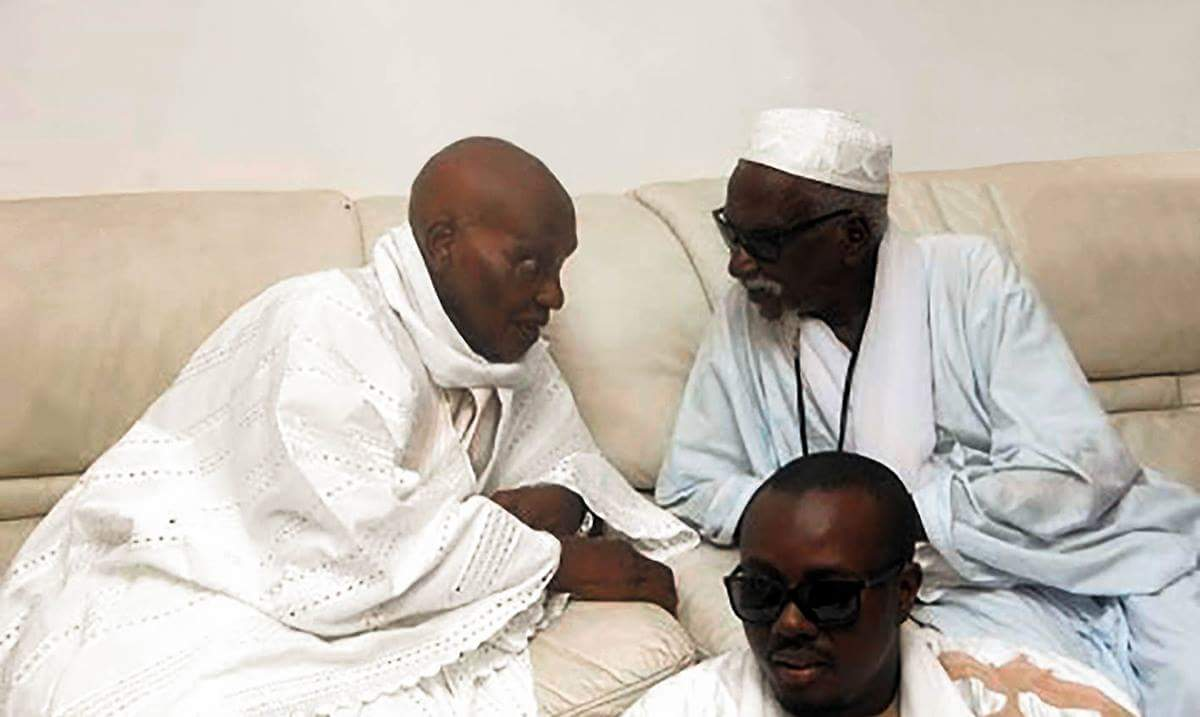 Les condoléances de Me Abdoulaye Wade suite au rappel à Dieu de Serigne Sidy Moctar