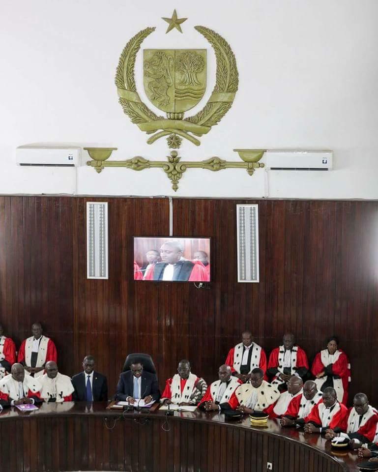Les images de l'audience solennelle de la rentrée des Cours et Tribunaux