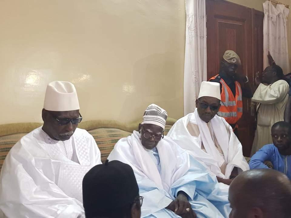 Le Khalif général des Tidiane , Serigne Mbaye Sy à Touba pour présenter ses condoléances