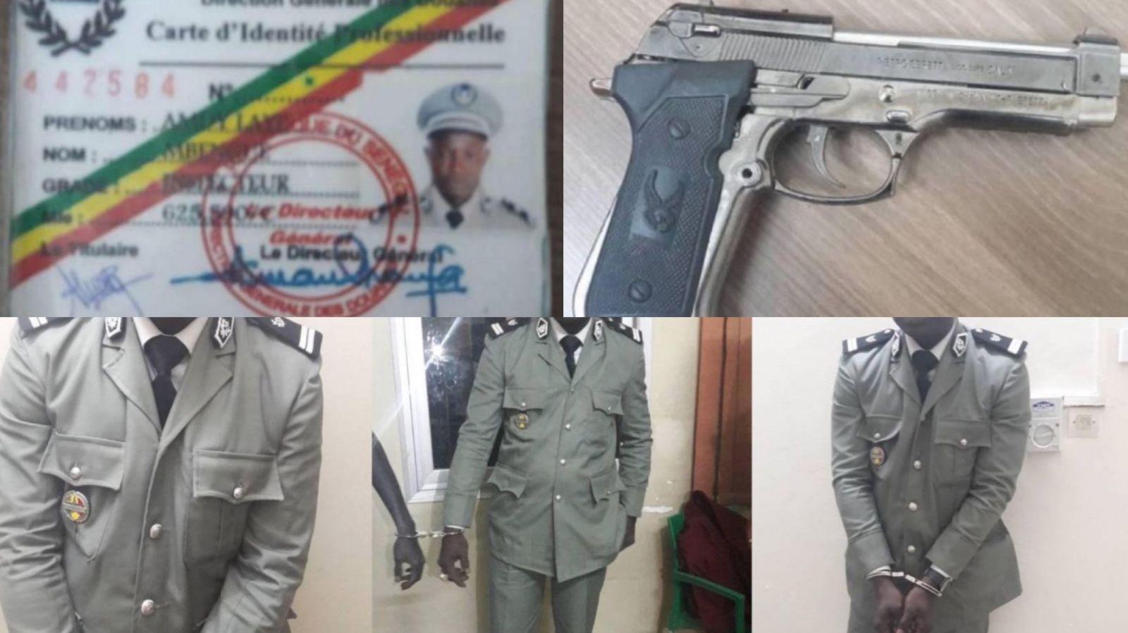 L'incroyable histoire d'Amdy Mbengue, le faux douanier