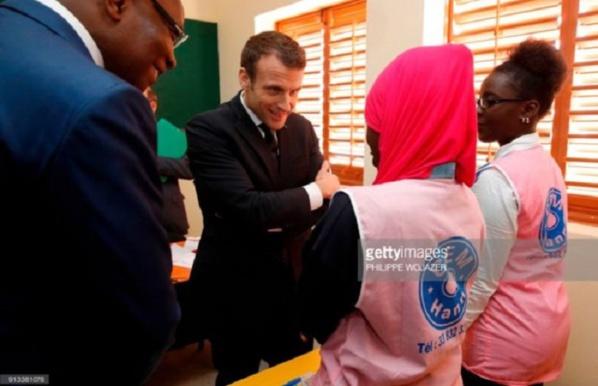 Macron et la classe de 28 élèves, une autre version