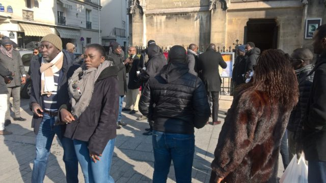 Le régime de Macky vilipendé à Paris…Les premières images