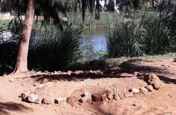 Maristes : Le corps d'un homme repêché dans le lac et enterré sur place