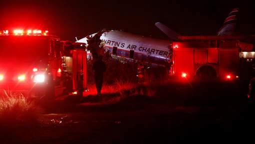 """Accident d'avion à Pretoria: """"Nous avons un mort dans le cockpit"""""""
