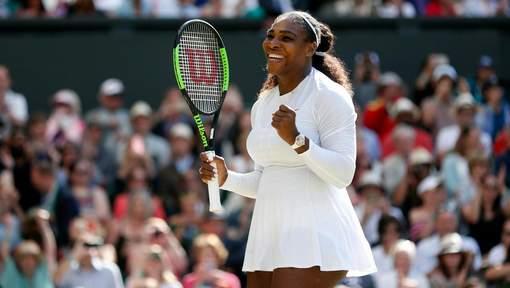 Serena Williams en demi-finales 10 mois après son accouchement