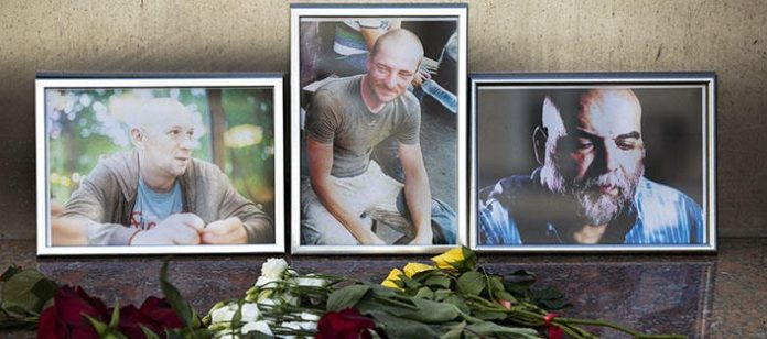 Les trois journalistes assassinés en République centrafricaine travaillaient sur des mercenaires russes privés