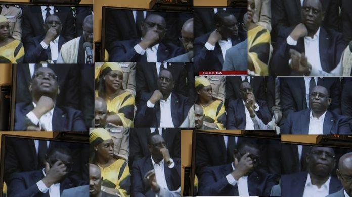 Macky Sall, un paraître en public qui pose problème (Images)