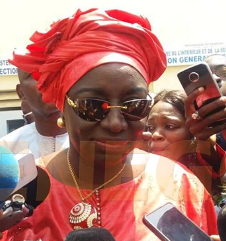 Mimi Touré : « Plus de 80 candidats à la Présidentielle se sont présentés à la DEG, c'est incroyable ! «