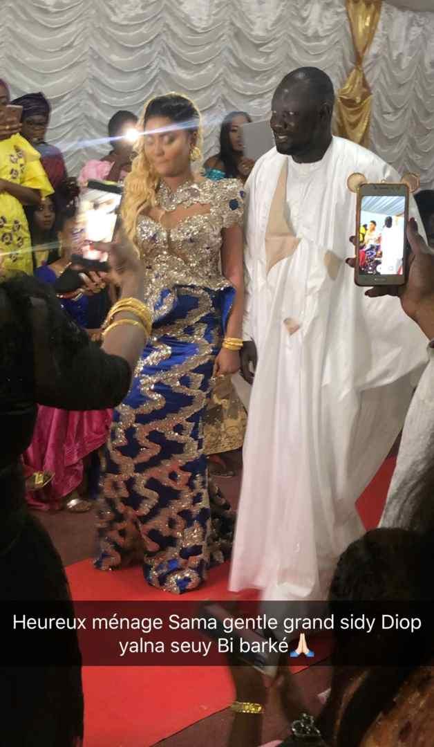 Carnet Rose :Le Jet setteur Sidi Diop s'est marié. Vivez en image le mariage du businessman sidy diop et sa bien aimé Beukkeu Laye.