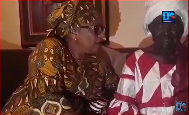 Vidéo: Soham Wardini fait pleurer la mère de Khalifa Sall et reçoit sa bénédiction
