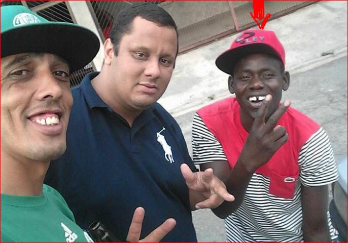 07 photos du Sénégalais Assane Diop tué à Sao Paulo au Brézil…