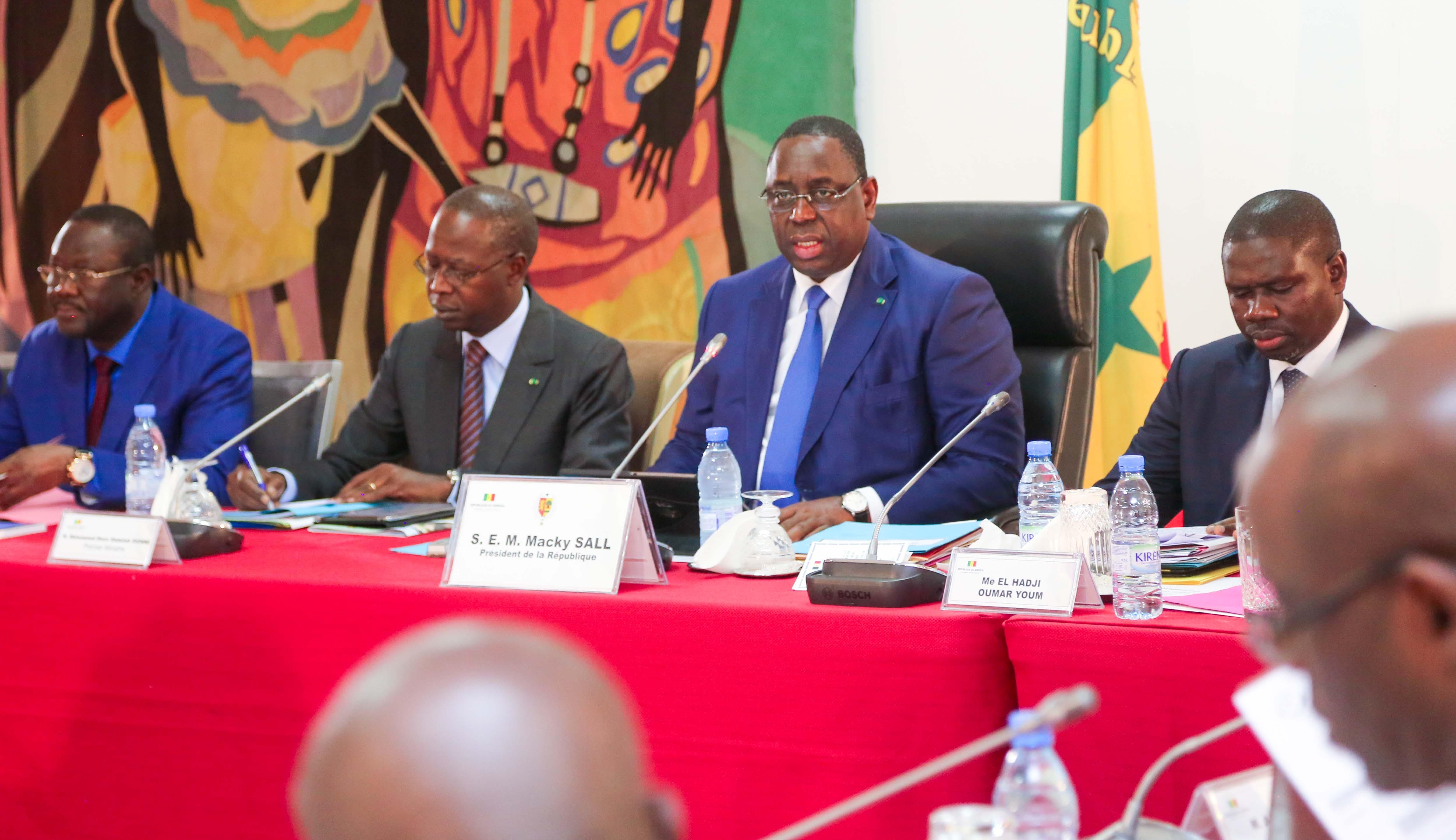 Communiqué du Conseil des ministres du 07 novembre 2018