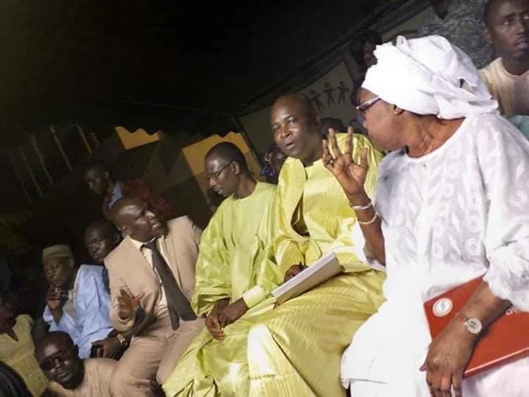 Harouna Dia s'investit pour la réélection du Président Macky Sall au 1er tour le 24 février 2019