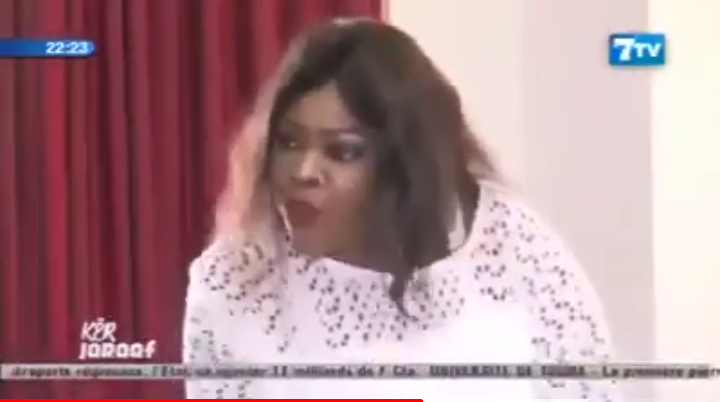 Le coup de gueule de Ndella Madior Diouf