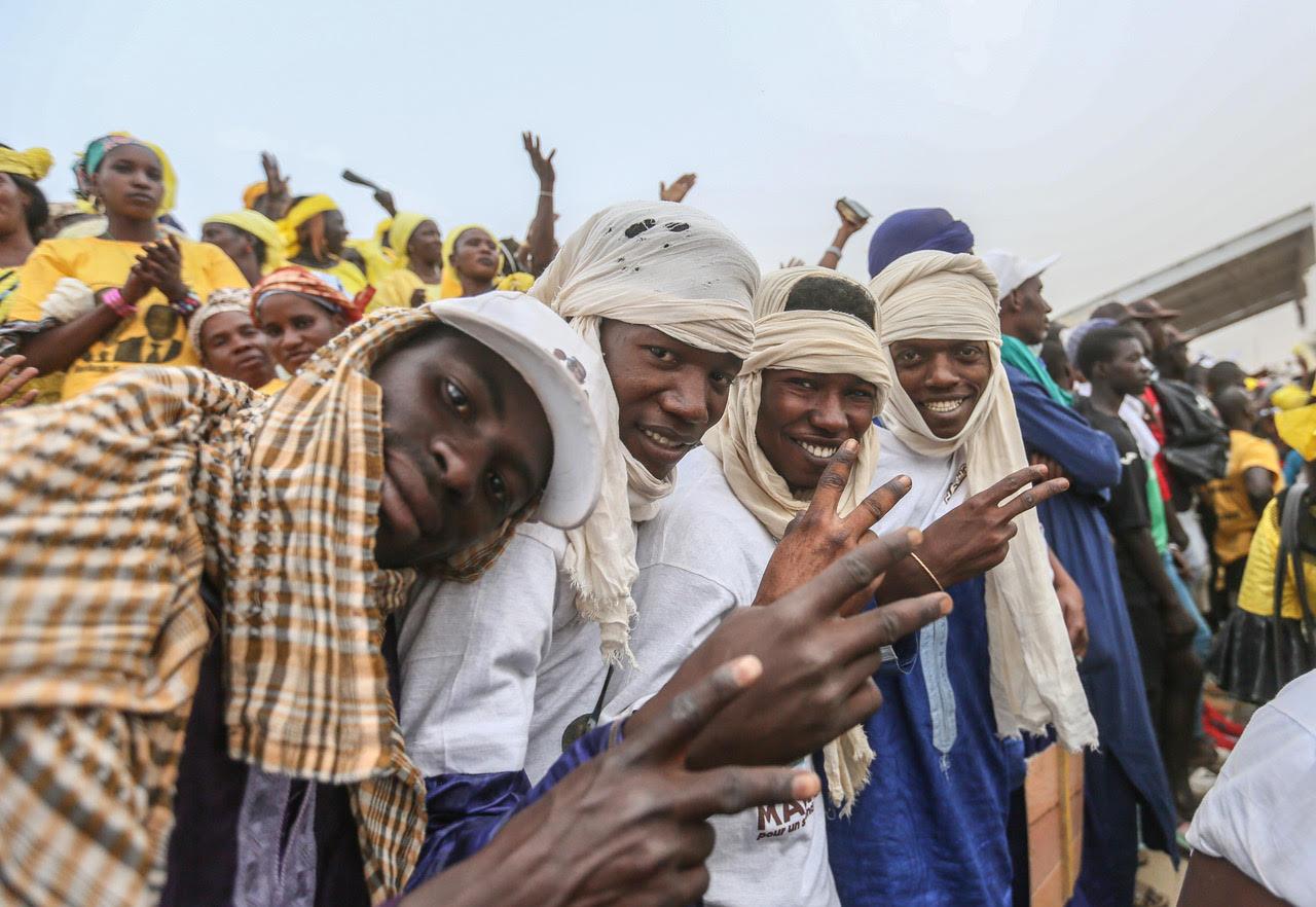 Macky Sall à Podor : 105 milliards investis en 7 ans