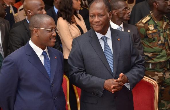 URGENT-  Guillaume Soro démissionne de son poste de président de l'Assemblée nationale