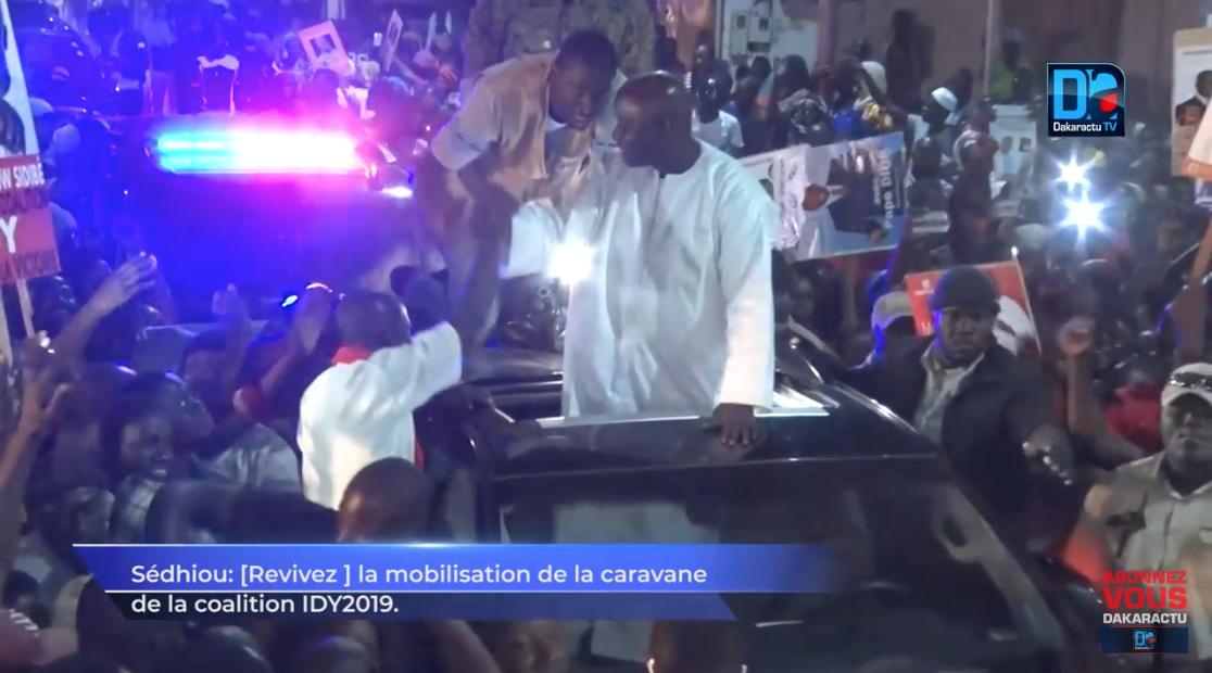 Sédhiou : Revivez la mobilisation de la caravane de la coalition IDY2019.