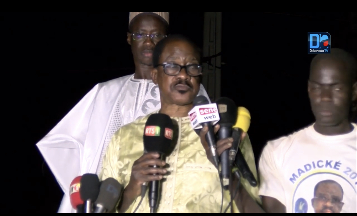 Kaffrine : Me Madické Niang promet d'inverser la courbe de développement du Sénégal