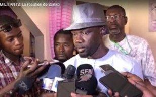 Accident de ses militants: La réaction d'Ousmane Sonko