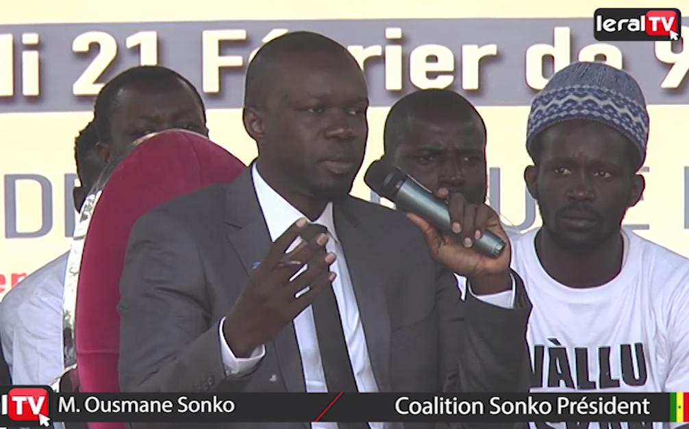 """VIDEO - Ousmane Sonko: """"Sur les 148 milliards, Eiffage n'a financé que 61 milliards sur l'autoroute à péage"""""""