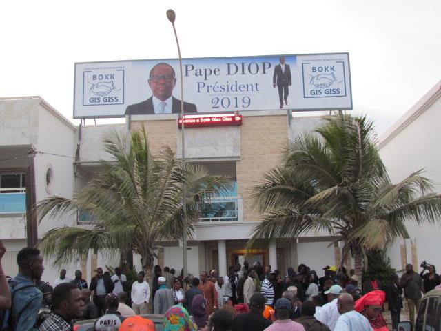 Conférence de presse conjointe Sonko et Idrissa Seck au siège de bok guis guis  sur la Vdn