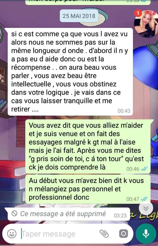 """Les graves révélations de Thiouthe Diop :"""" Dj Edouardo m'harcèle depuis plus de 10 ans (...) Il me dit :""""j'ai un gros sexe, je ne vais pas te faire mal (...)"""""""