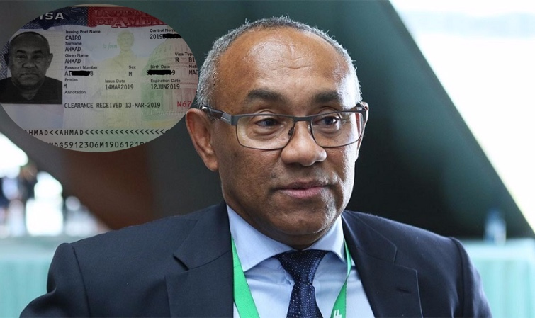 AHMAD AHMAD OBTIENT LE VISA AMÉRICAIN, MAIS NE SE RENDRA PAS À LA RÉUNION DE MIAMI