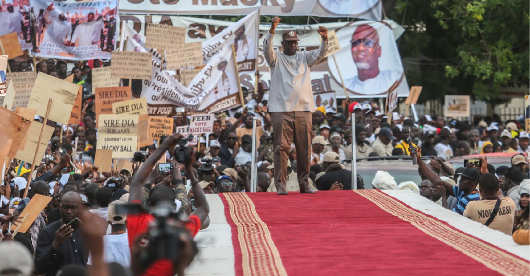 """Macky Sall: Le mérite revient au peuple Sénégalais """""""