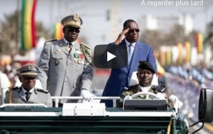 [ REPLAY- 04 Avril 2019 ] : Revivez sur Dakaractu, le défilé civil et militaire...