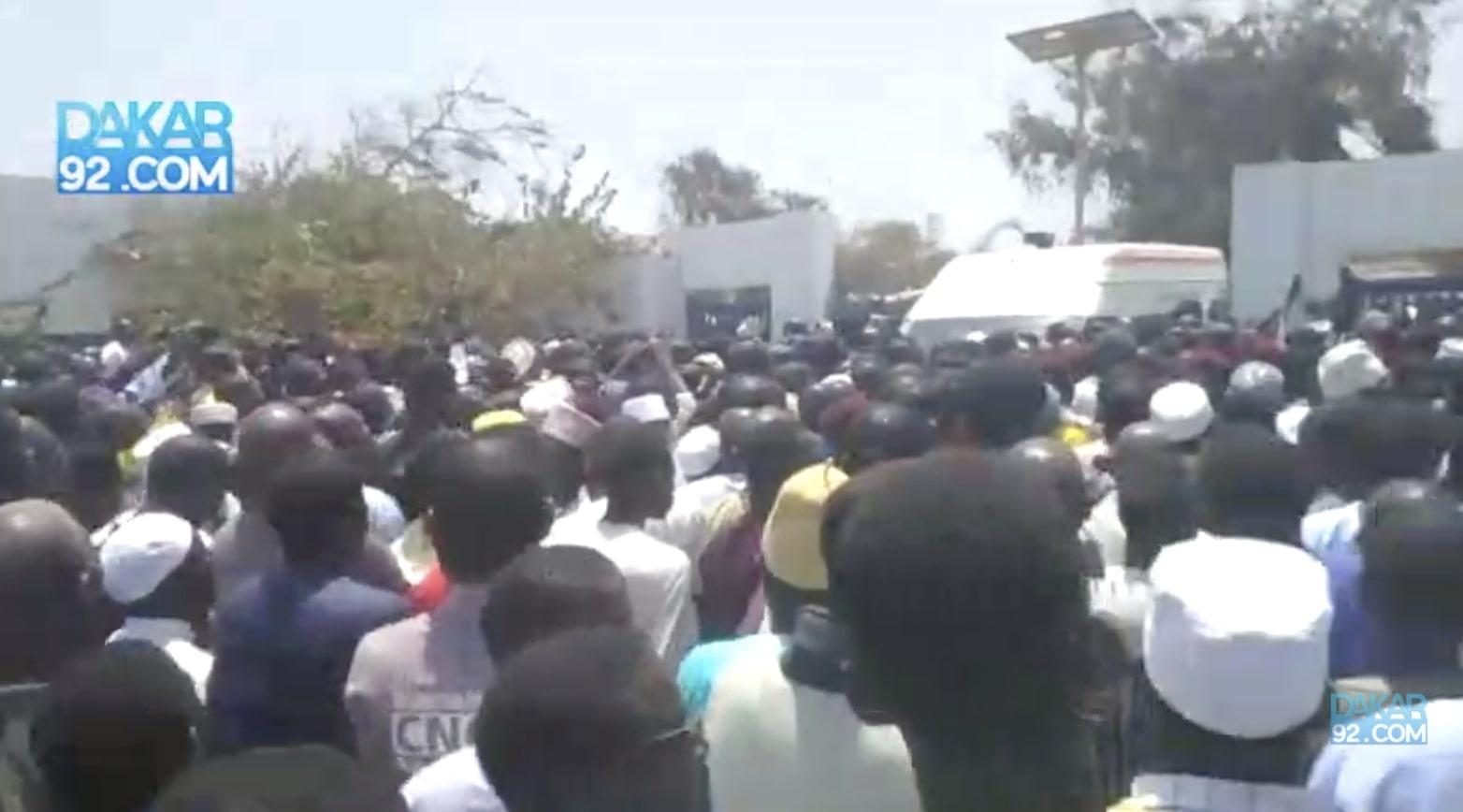 Immense foule pour accompagner Serigne Ahmed Sy à sa dernière demeure