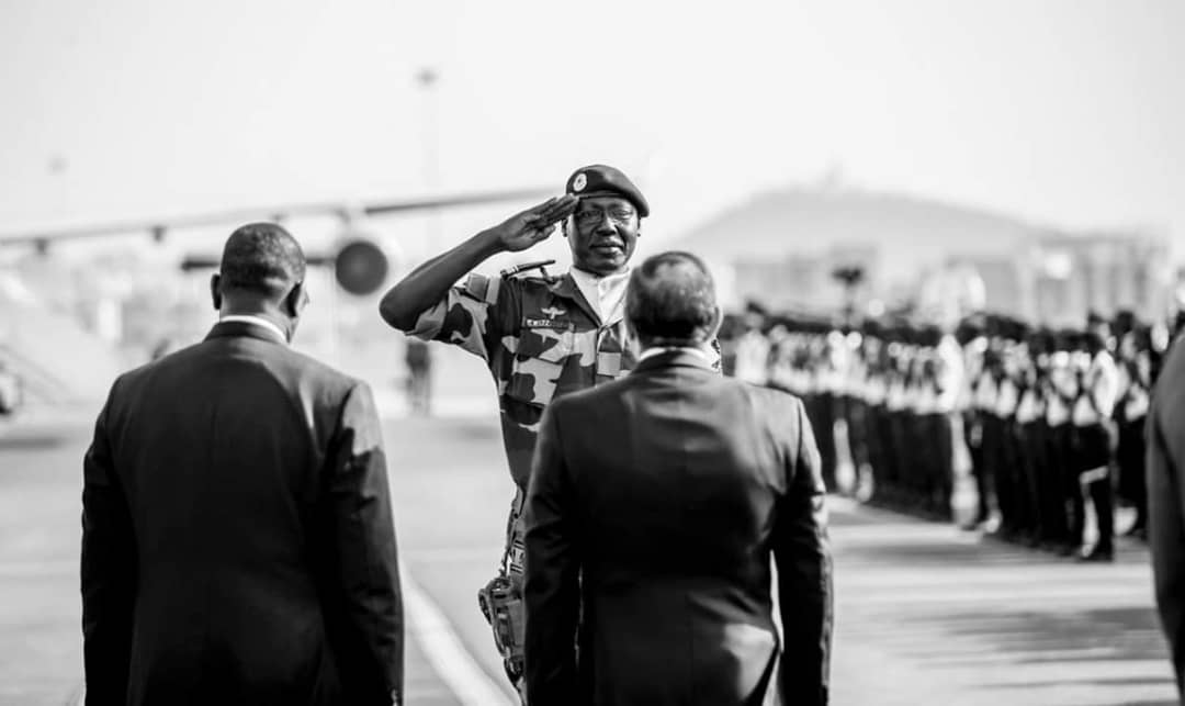 Les images de l'arrivée du PR Égyptien à Dakar