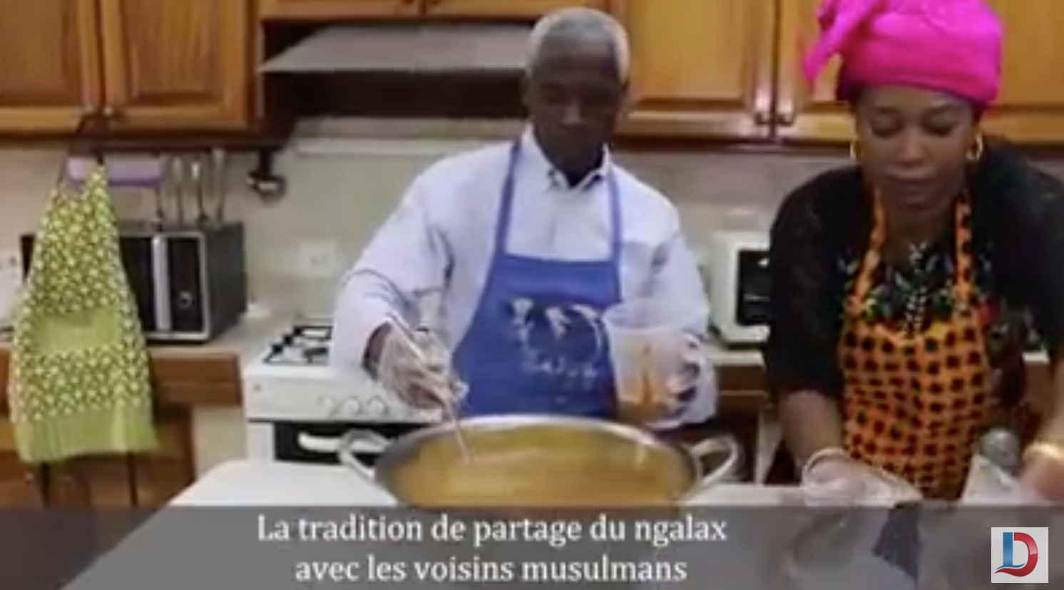 L'ambassadeur des États-Unis d'Amérique au Sénégal offre du Ngalakh
