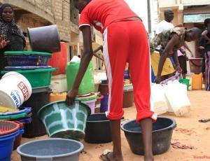 Pénurie d'eau a Dakar: Niary Tally sans eau, depuis 4 jours