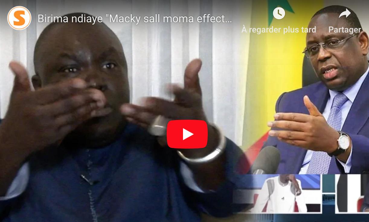 Birima Ndiaye avoue: « Pour sa réélection, Macky Sall m'a demandé d'envahir les réseaux sociaux»