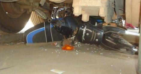 Kaolack / Un camion heurte une moto Jakarta et fait deux victimes dont une dame qui est décédée sur le coup